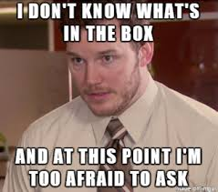 Whats In The Box Meme - i don t know what s in the box meme on imgur