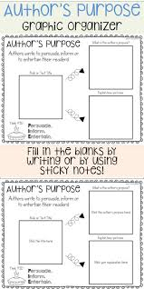 good authors to write research paper on top 25 best authors purpose ideas on pinterest ela anchor author s purpose graphic organizer