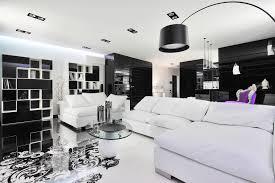 White On White Furniture Black And White Graphic Decor