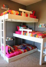 4 Bed Bunk Bed Bedroom Modern Bunk Beds Low Profile Bunk Bed 4 Bed Bunk Bed