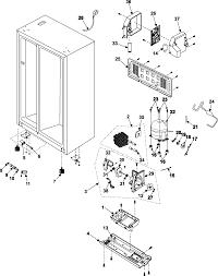 samsung samsung refrigeration parts model rs253bawwxaa sears