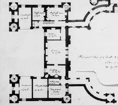 robert adam designs in the castle style seton castle west wing