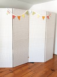 modern sliding doors room dividers white and green panels painting