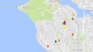 seattle map discovery park at seattle s discovery park ruled arson komo