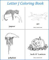 alphabet coloring book for letter g words to letter l words