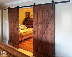 Rustic Closet Doors Astonishing Barn Door Style Interior Doors 91 For House Interiors