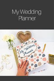 wedding book planner wedding planner book bridal organizer engagement gift