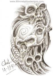 awesome biomechanical jester design designs photo