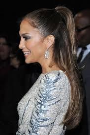 j lo ponytail hairstyles jennifer lopez half up half down ponytail hairstyle hairstyles