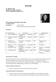 resume template for assistant resume for assistant professor http resumesdesign resume for