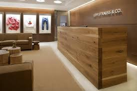 Wood Reception Desk Beautiful Modern Wood Reception Desk Contemporary Liltigertoo