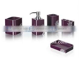 Acrylic Bathroom Accessories by Best 10 Purple Bathroom Accessories Ideas On Pinterest Purple