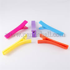 alligator hair wholesale plastic alligator hair clip findings mixed color 58 5