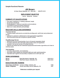 Busboy Skills Resume Outstanding Details You Must Put In Your Awesome Bartending Resume