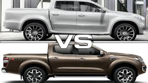 renault alaskan 2017 mercedes benz x class vs 2017 renault alaskan youtube