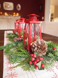 christmas lantern centerpieces christmas table centerpiece