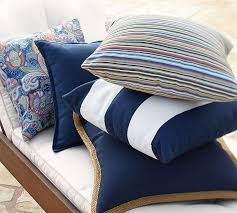 Pottery Barn Emerson Rug Emerson Stripe Indoor Outdoor Pillow Pottery Barn
