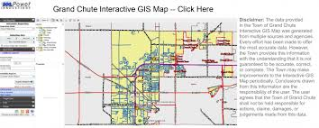 grand map grand chute departments community development gis property