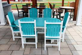Blue Dining Set by New Adirondack Chairs Dining Sets U0026 More Outdoor Furniture The