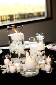 black and white centerpieces if the ring fits black and white wedding