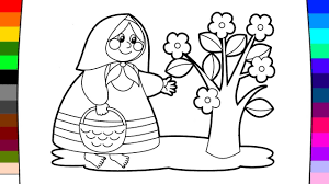 how to coloring little people learning coloring pages for kids