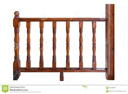 Wooden Banister Wooden Railing Stock Image Image 23896781