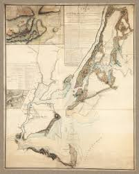 New York Islands Map by New York 1776 1777 Ny Campaign Revolutionary War Hq Map