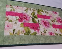 floral table runner etsy
