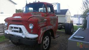 gmc coe cabover lcf low cab forward stubnose truck