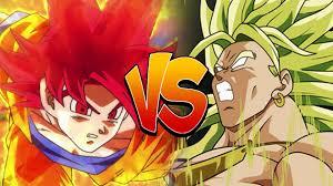 super saiyan god goku legendary super saiyan broly dragon