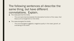diction what u0027s the difference between these 2 descriptions and