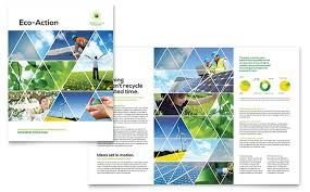 energy u0026 environment brochure templates word u0026 publisher
