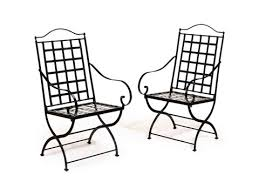 Garden Armchairs Folding Garden Armchairs Set Of 6 By Herve Baume On Artnet