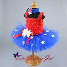 red white and blue fourth of july tutu for infants toddlers