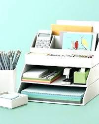 Desk Set Organizer Designer Desk Sets Accessories Office Supplies Organizing