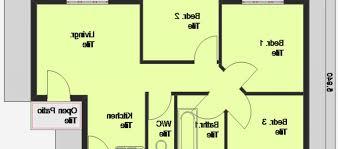 bedroom house plan simple three bedroom house plan on three
