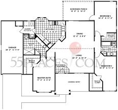 Georgetown Floor Plan Georgetown Floorplan 1674 Sq Ft Oak Run 55places Com