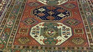 3 medallion armenian kazak rug youtube