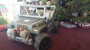 power wheels jeep barbie so i bought my son a used pink and purple barbie powerwheels for