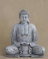 spiritual statues antique style meditating garden buddha statue 8 5 inches
