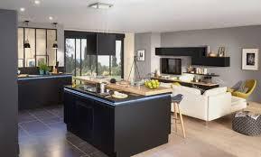 ilot central cuisine brico depot cuisine quip e avec ilot central de conception