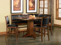 modern 5pc corner counter height high quality dining room table 4