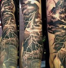 9 topmost lightning tattoos for 2017 styles at