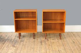 small teak bookcase u2013 forest london