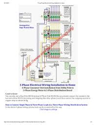 single phase house wiring diagram efcaviation com