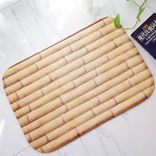 kchen tapeten modern 2 water uptake non slip toilet print flannel foot doormat welcome
