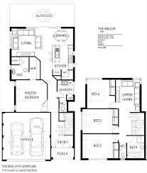 Two Storey Floor Plan Double Storey Bellissimo Homes House Designs New Home