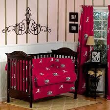 Alabama Bed Set Alabama Crimson Tide Baby Crib Set 5pc Crib