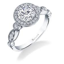 stackable engagement rings s1811