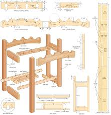 Woodworking Projects Free Download by Wine Rack Woodworking Plans Free Diy Pdf Download Modular Computer